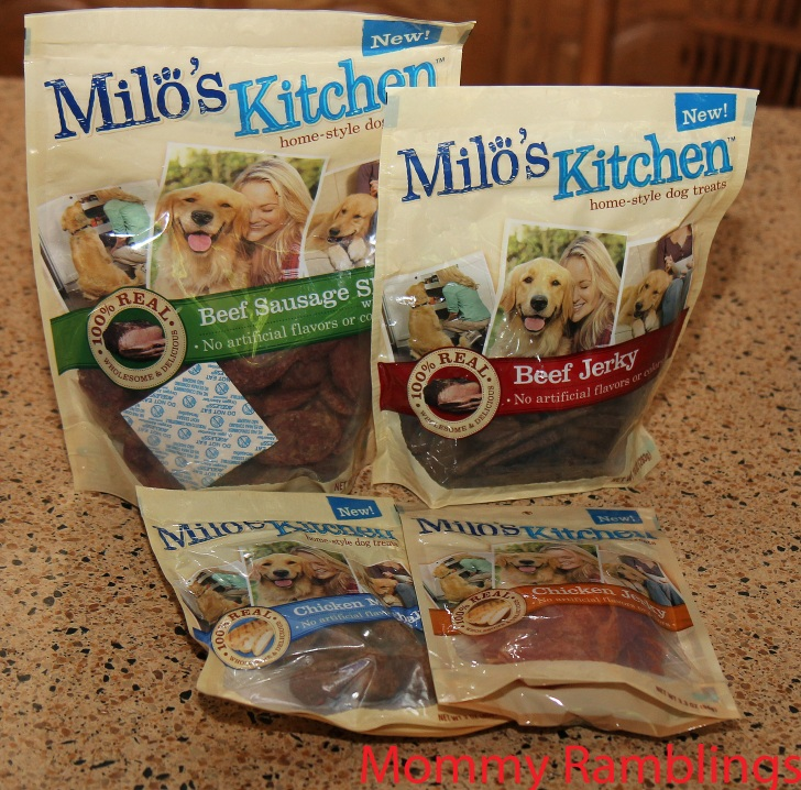 Milo Kitchen Home Style Dog Treats Give Away