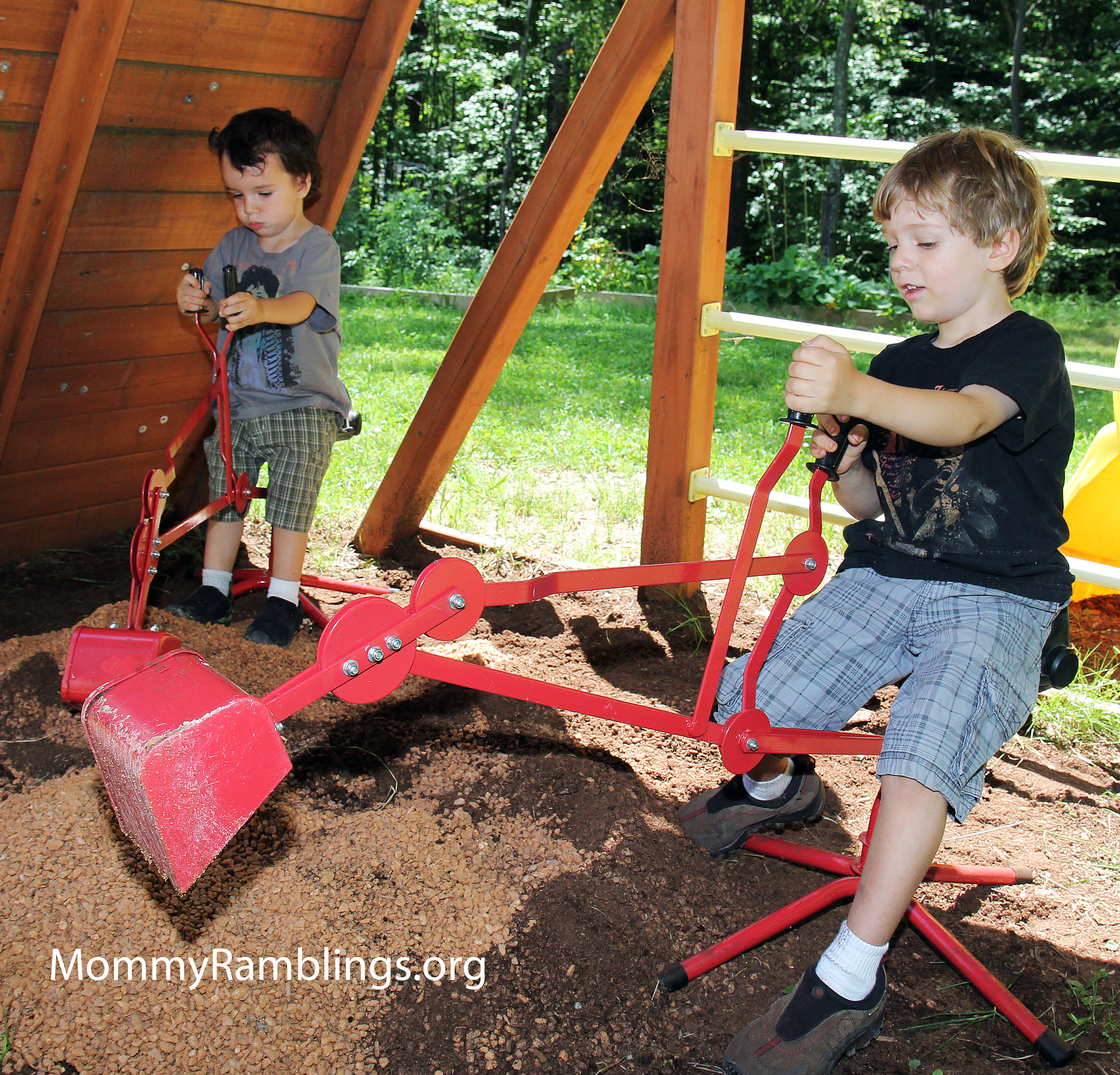 sandbox toys backhoe