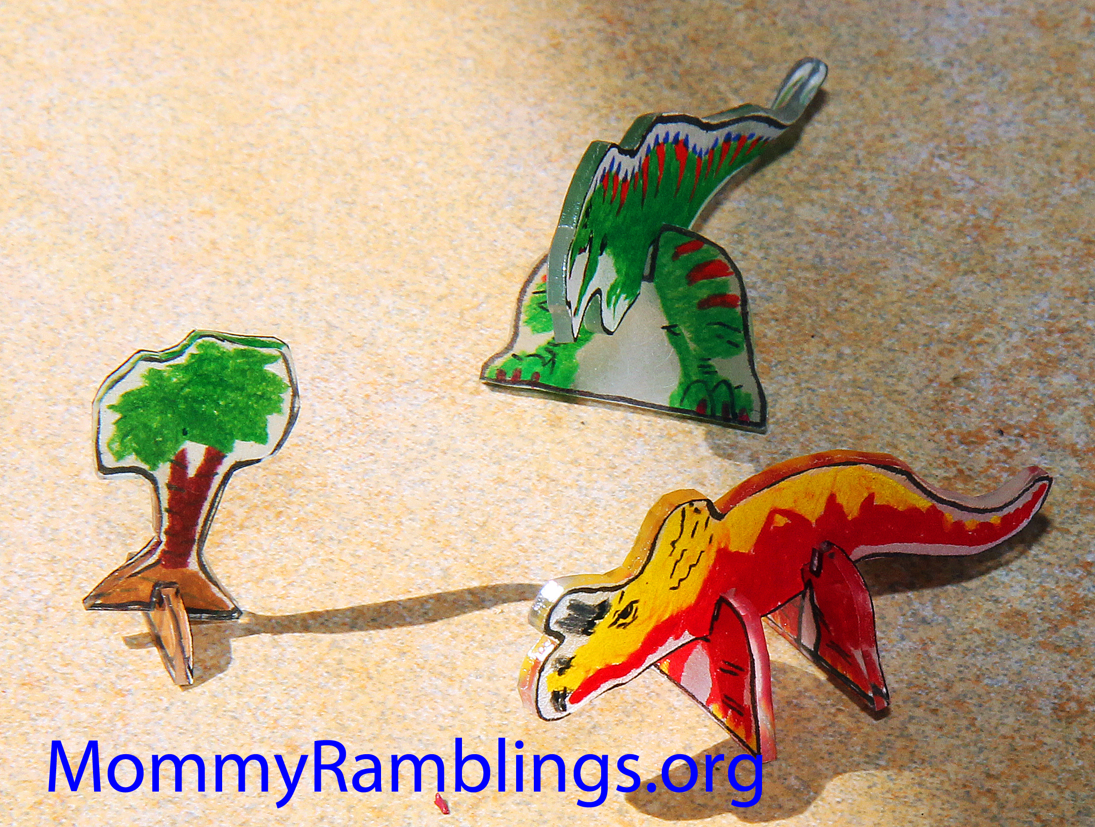 Bsw Toy Inc Dinosaur Shrinky Dinks In 3d Review Amp Give