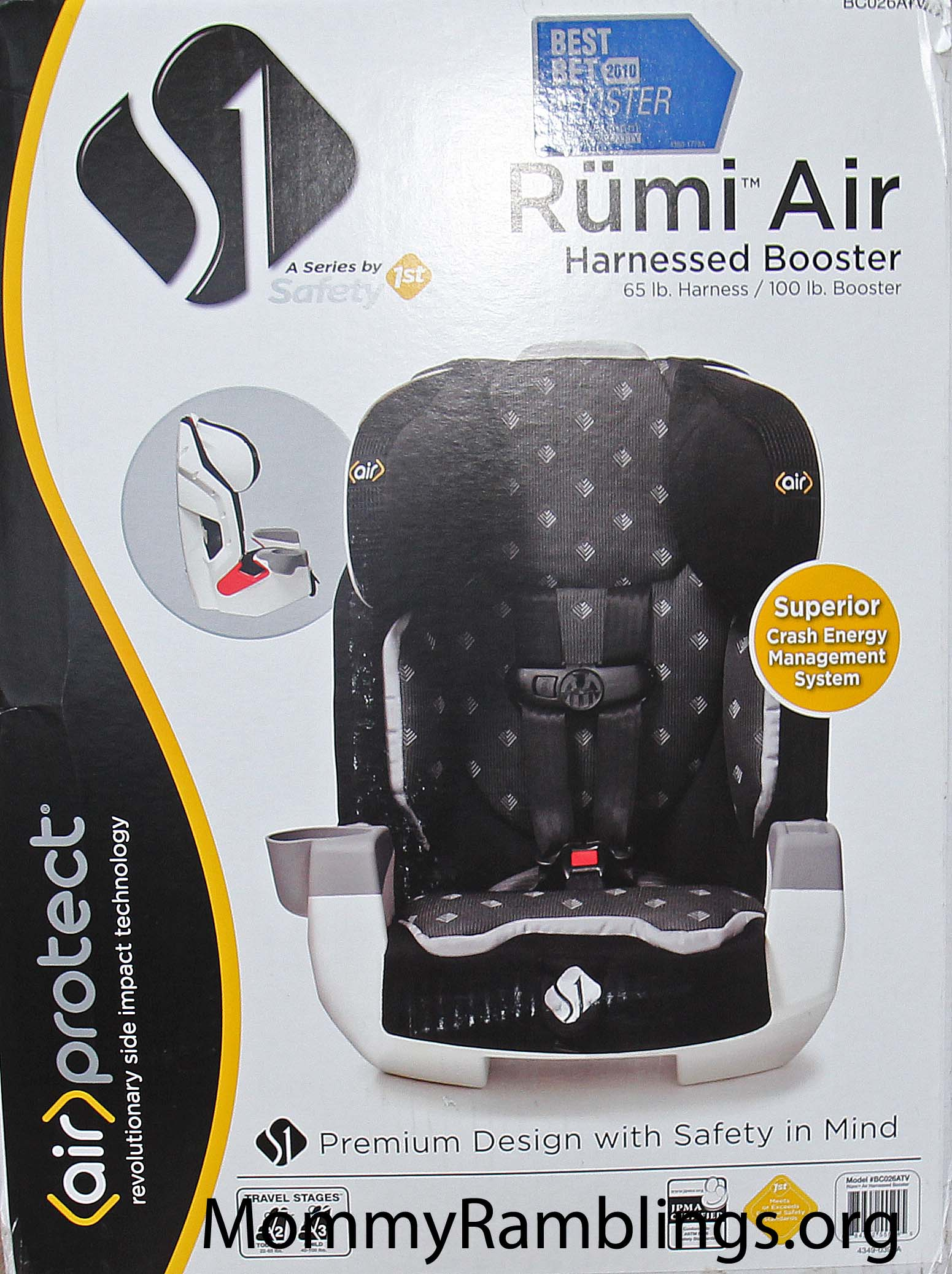 Safety 1st S1 Rumi Air Harnessed Booster Review