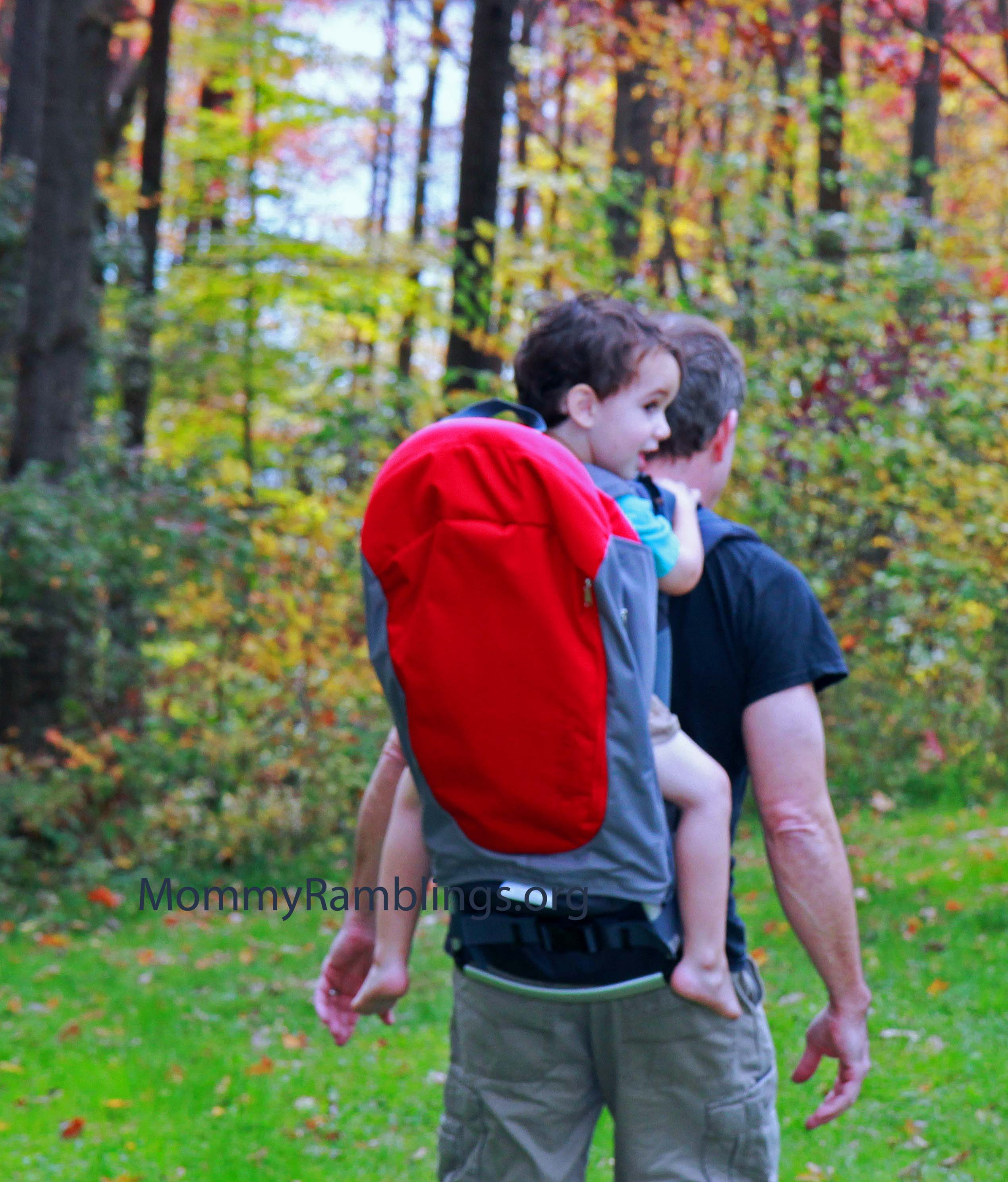 phil & teds Metro Baby Backpack Carrier Review