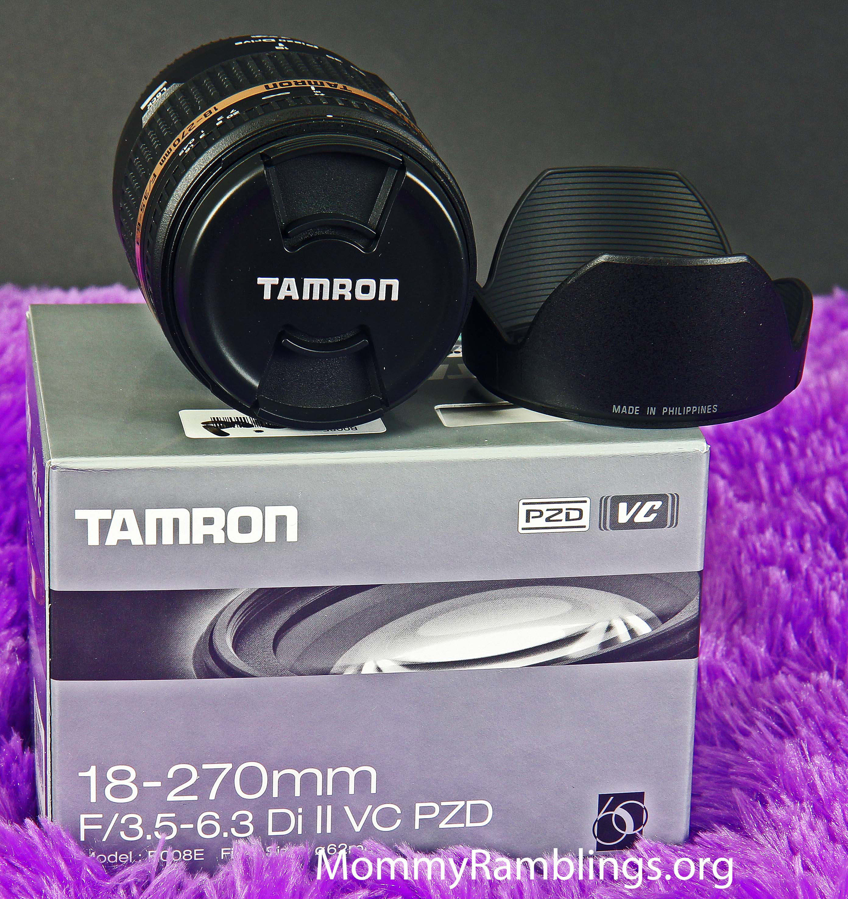 Tamron Af18 270mm F 35 63 Di Ii Vc Pzd Af Lens Mommy Ramblings 18 For Canon Should Try The Auto Focus Works Great And Vibration Compensation Mechanism Is Flawless