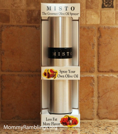 Misto Gourmet Olive Oil Sprayer Review Give Away Mommy Ramblings