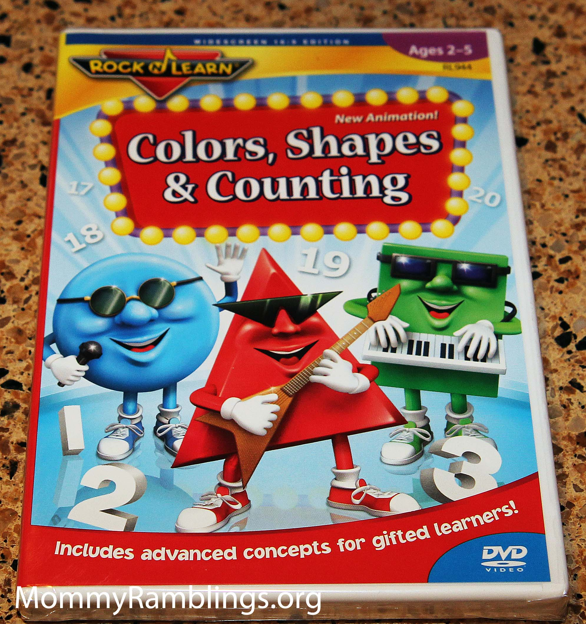 Rock 'N Learn: Colors, Shapes & Counting | 725696894428 ...