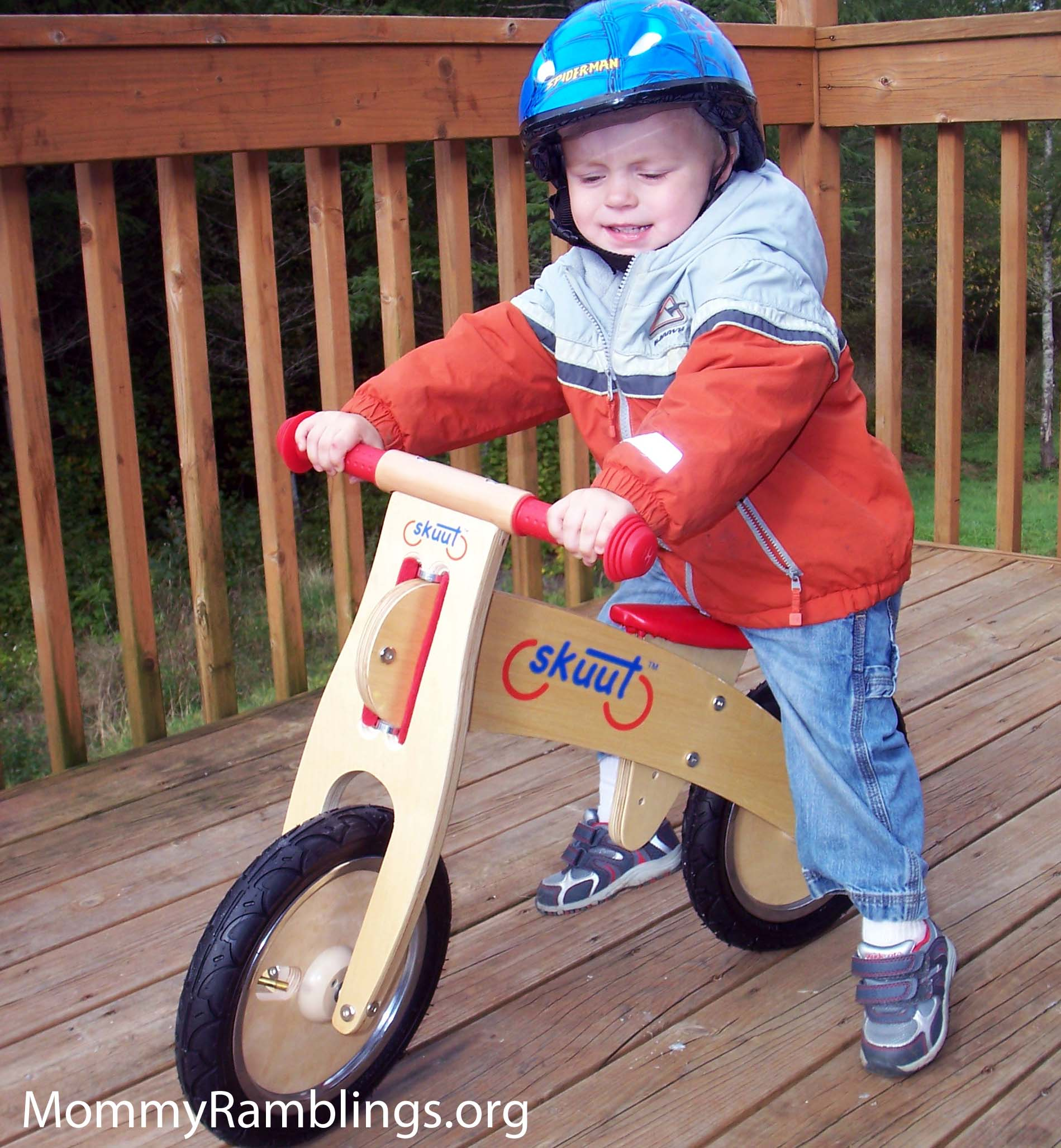 Skuut Wooden Balance Bike Mommy Ramblings